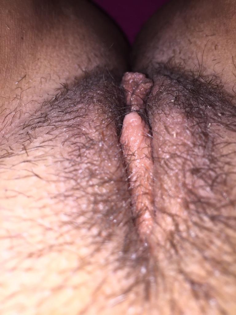 naken hårig
